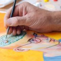 Domestika illustration with acrylic paints