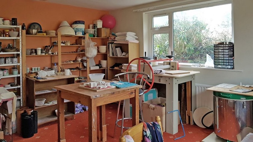 Mairi Stone ceramics studio