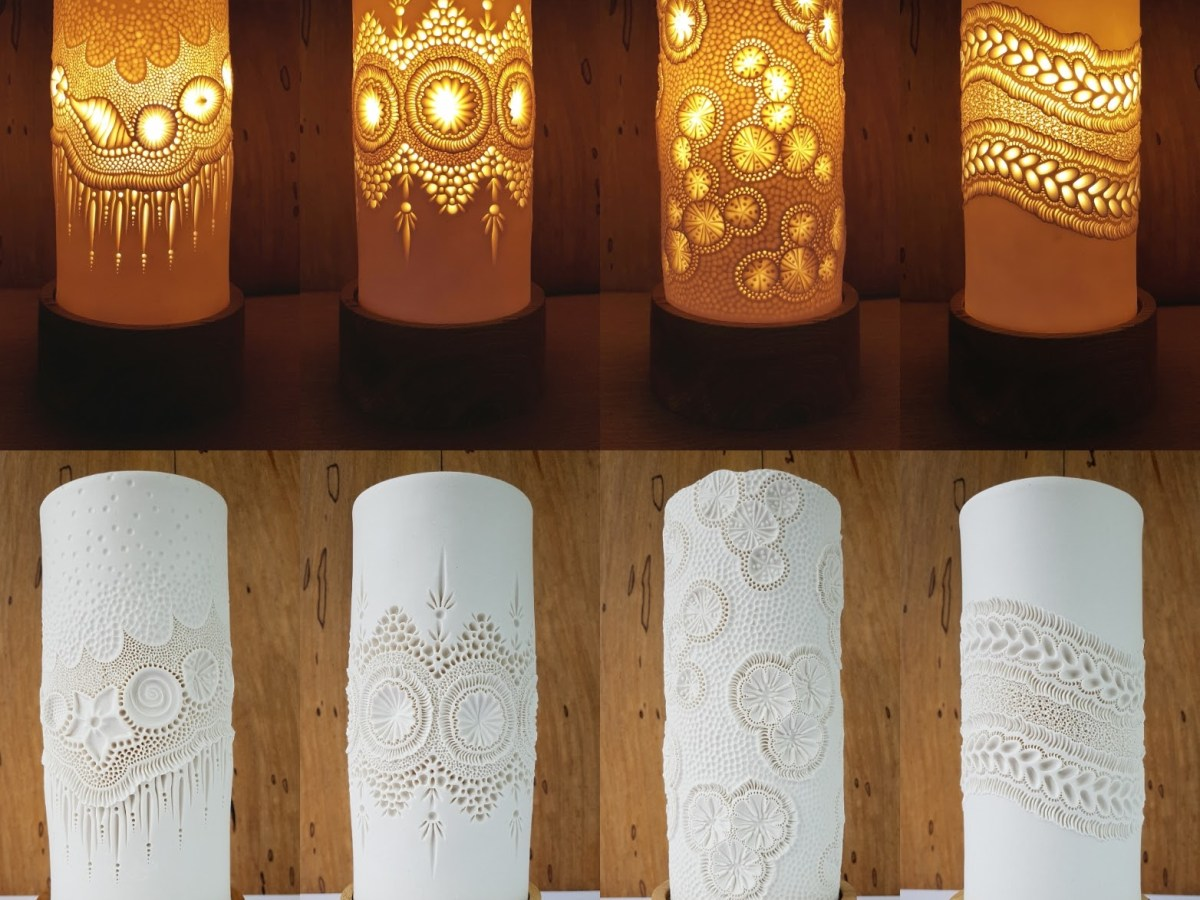 Mairi Stone lamps on off