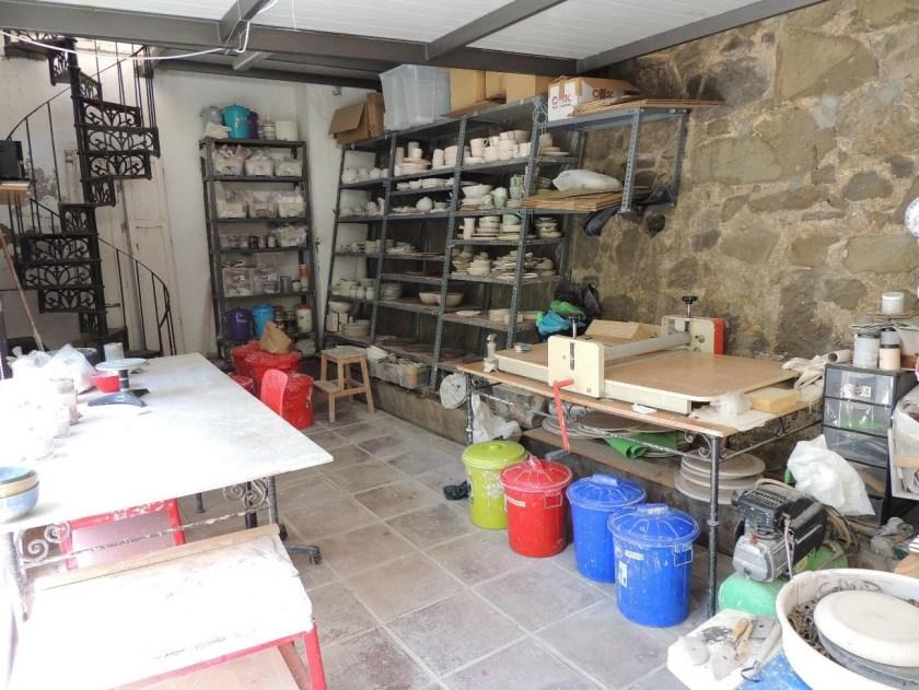 Maria Monasterio ceramics workshop 2