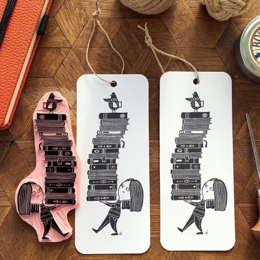 Viktoria Astrom instagram artist bookmark