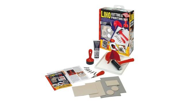 Essdee linocut tools and materials kit