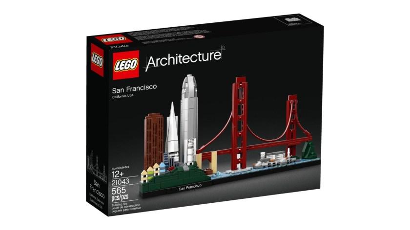 Lego Architecture set San Francisco