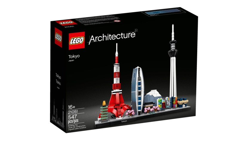 Lego Architecture Tokyo set