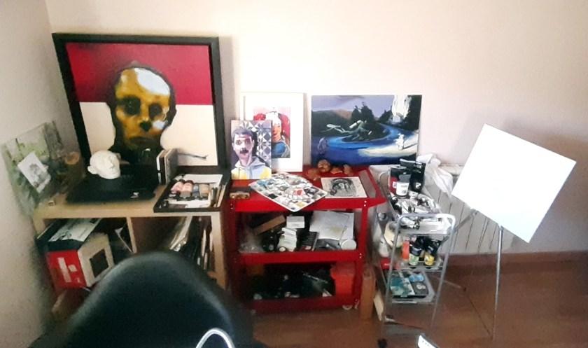 Mister Kaikus artist studio 2