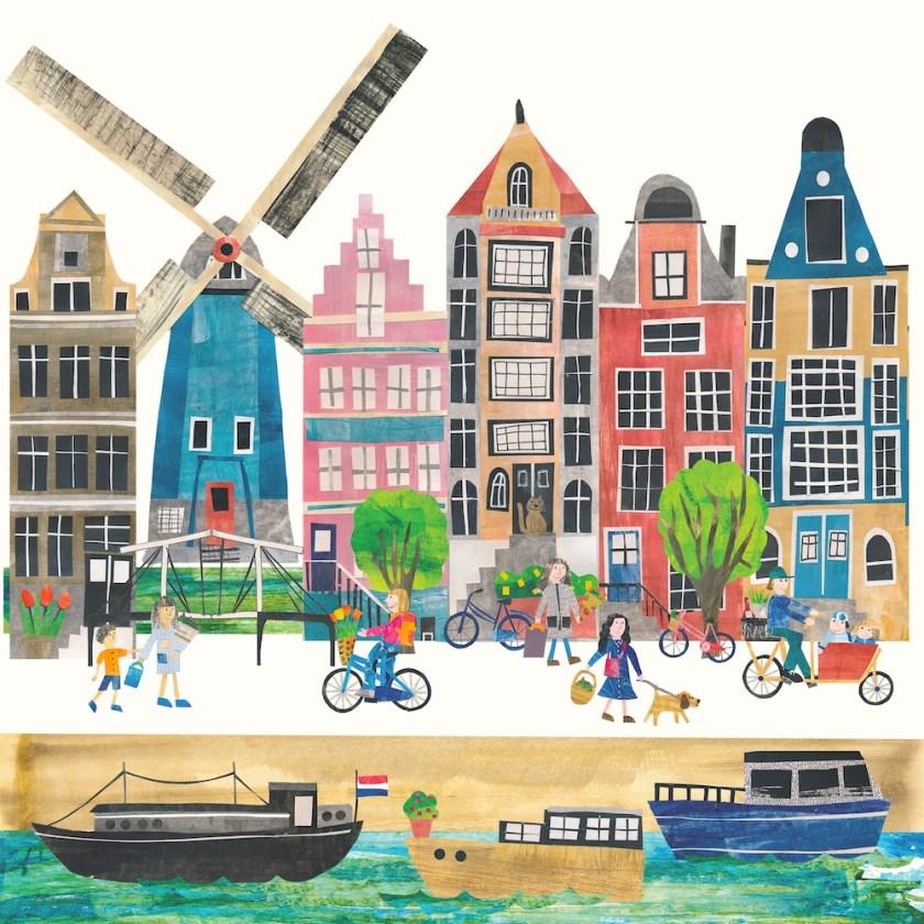 Tracey English Amsterdam collage art
