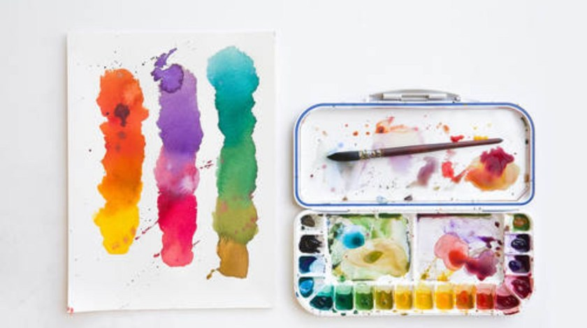 Getting started with watercolor and gouache paints creativelive course