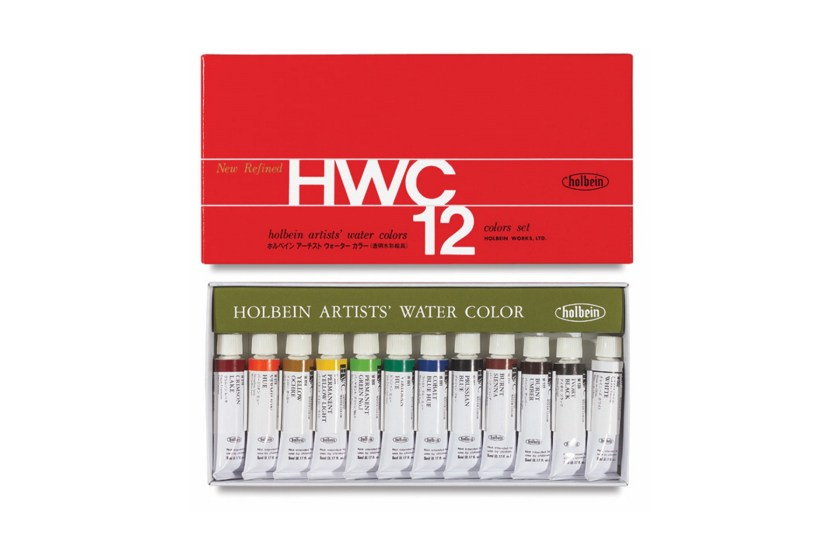 Holbein Artists watercolor sets