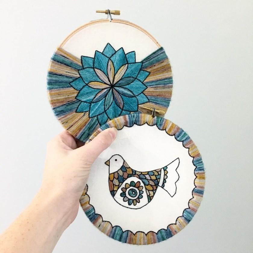 Sarah K Patro embroidery works