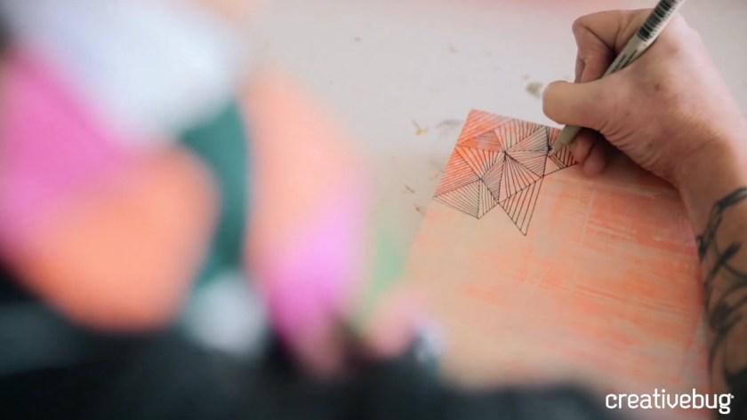 Basic line drawing creativebug class