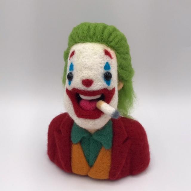 Ed Mironiuk needle felt joker