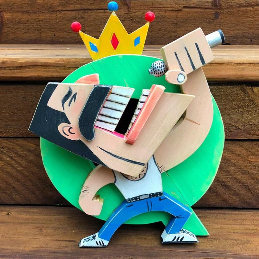 Steve Casino Freddie Mercury art