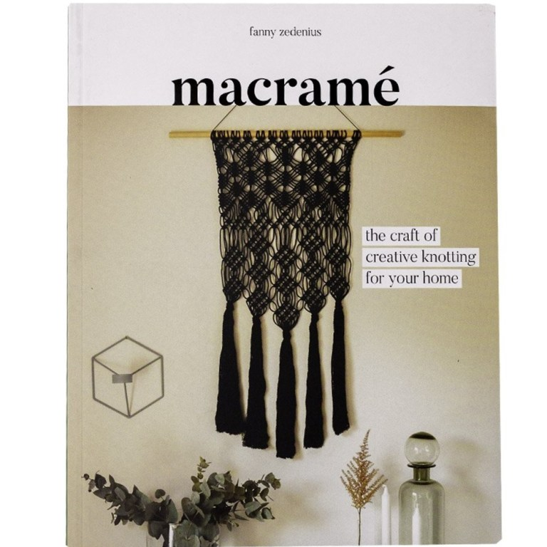 Macrame the craft of creative knotting for your home book Fanny Zedenius