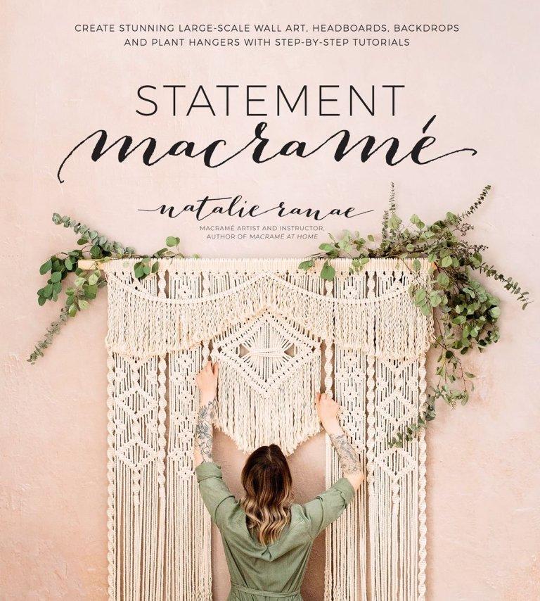 Statement macrame book Natalie Ranae