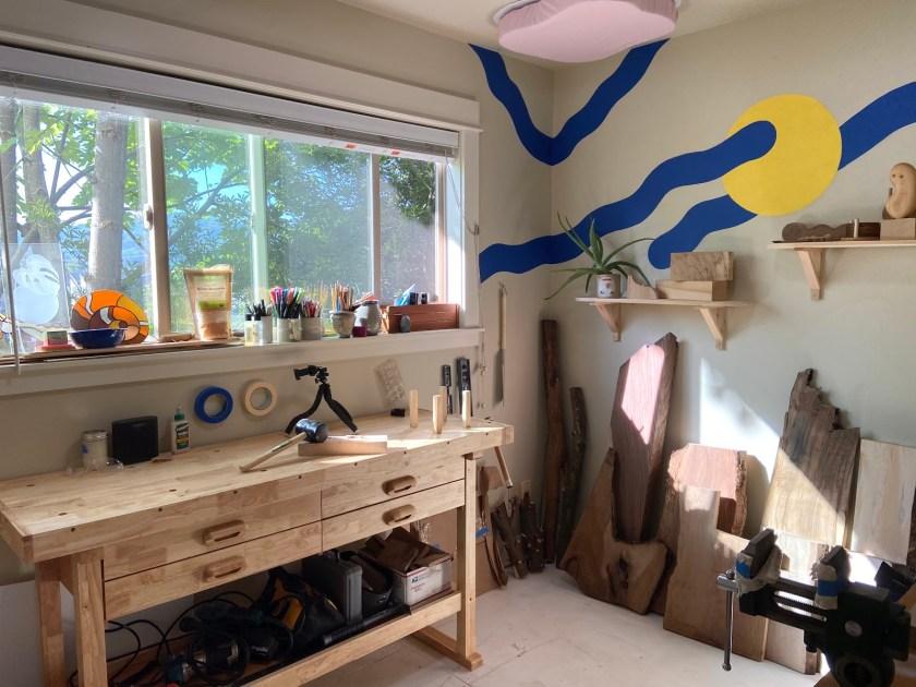 Anya Walker wood carving workshop-1