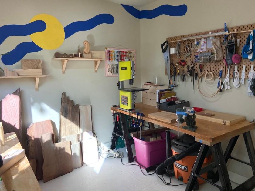 Anya Walker wood carving workshop 2