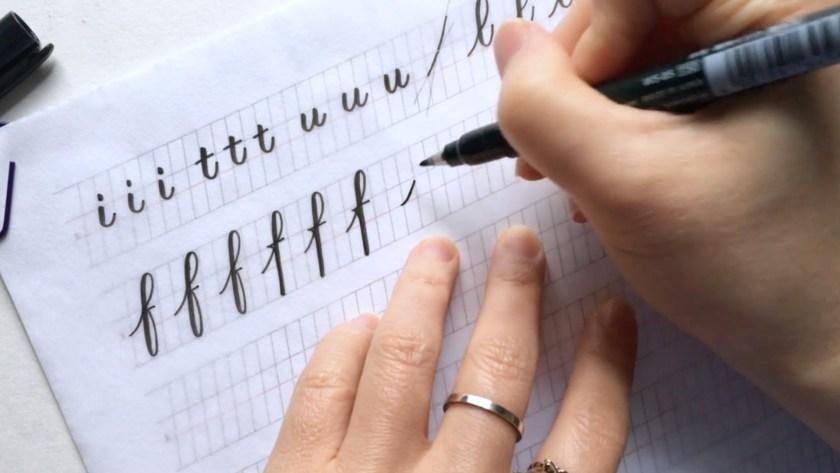 Brush Pen Modern Calligraphy classes Udemy