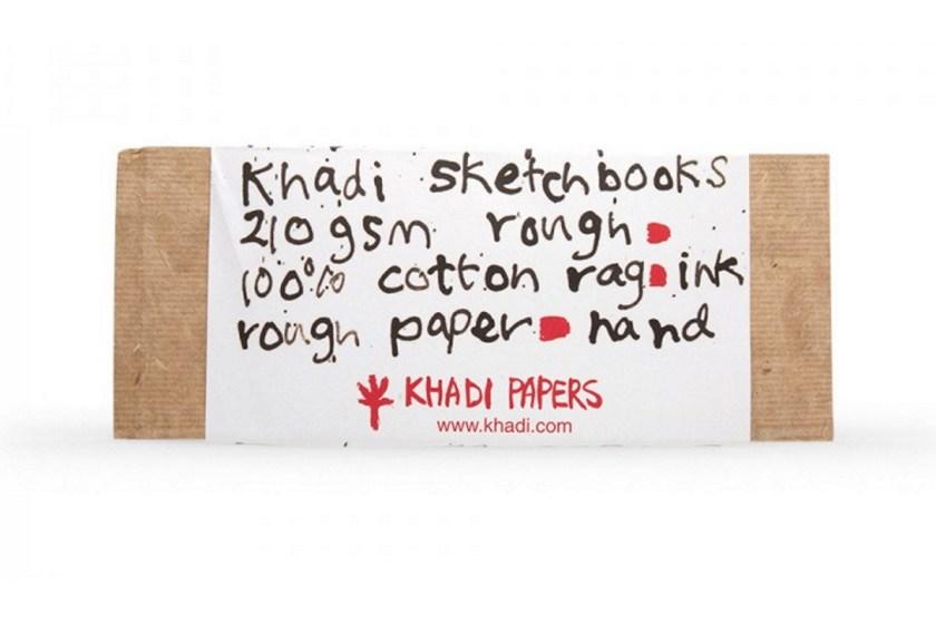 Khadi rough cotton watercolor sketchbook