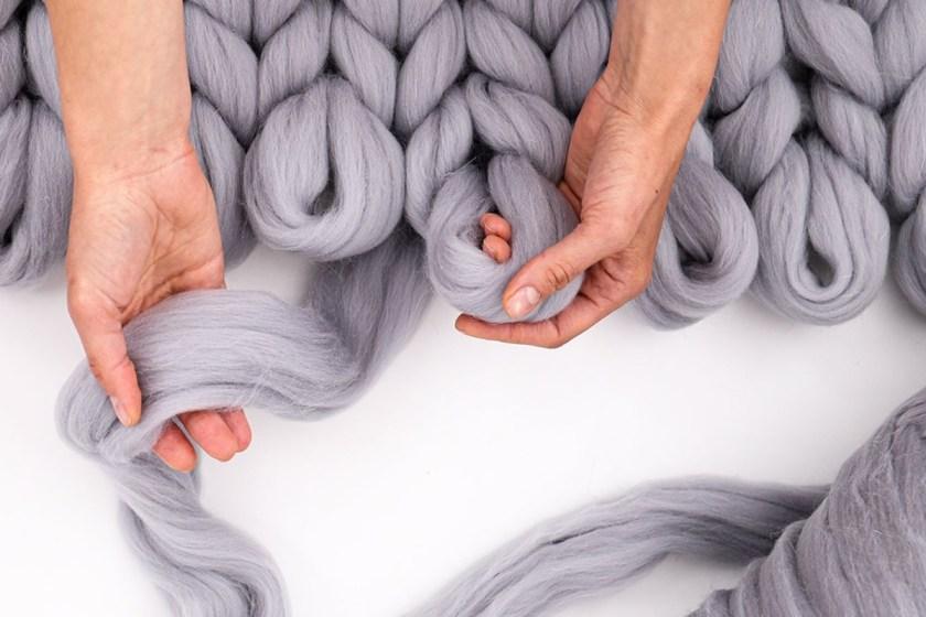 LoopsStudio super chunky merino wool yarn
