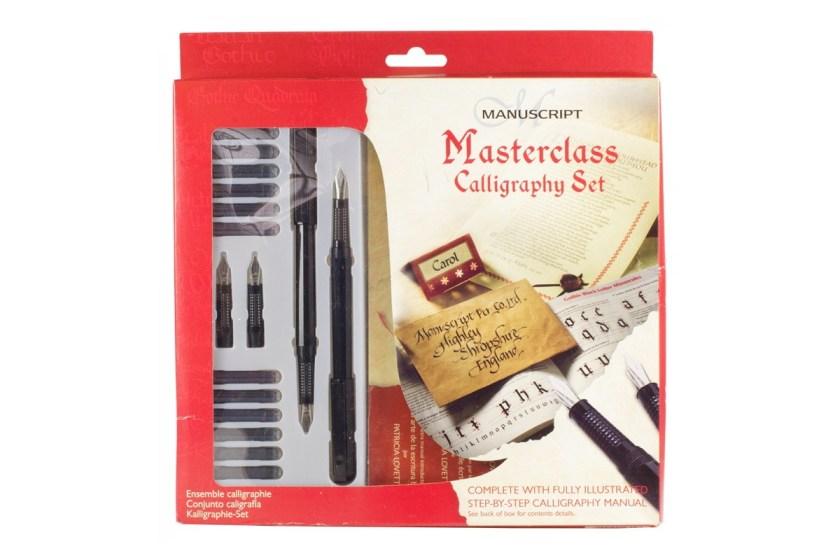Manuscript masterclass fountain pen calligraphy set