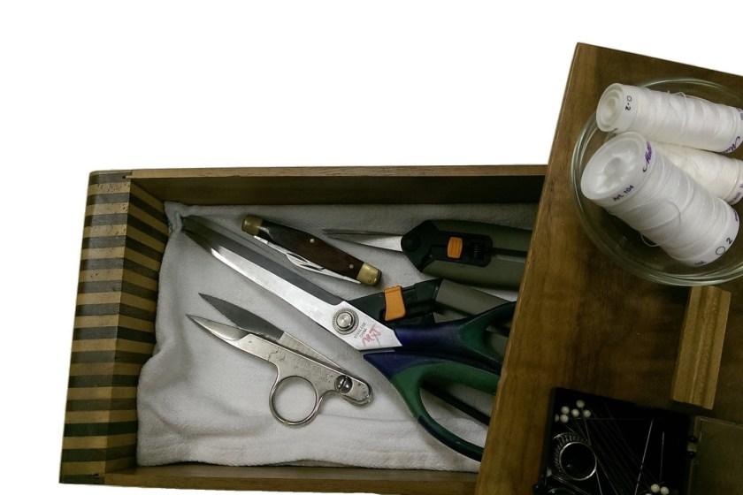 Essential rug tufting supplies - Sewing scissors shears