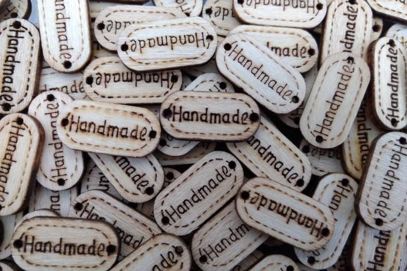 Wood burning sample tags