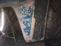stripped rudder