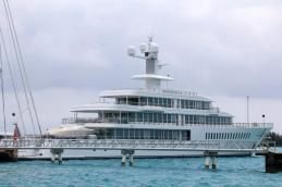 Superyacht Dock in St George