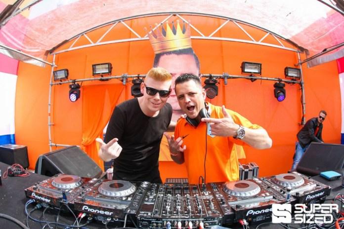 Zany samen met Ruthless op Supersized Kingsday Festival