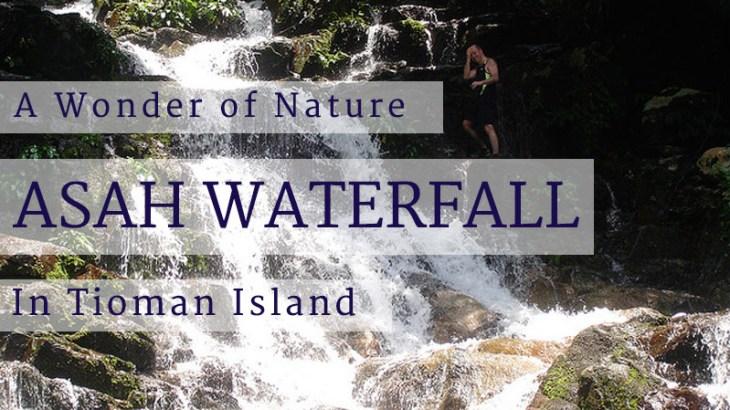 asah waterfall Tioman Island
