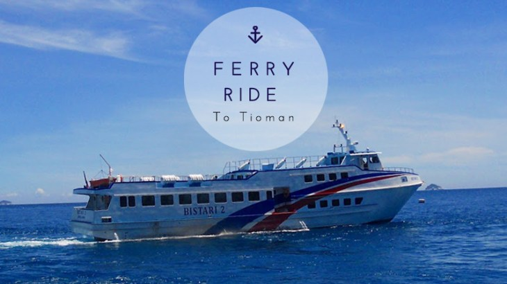 Ferry Ride to Tioman Island Malaysia