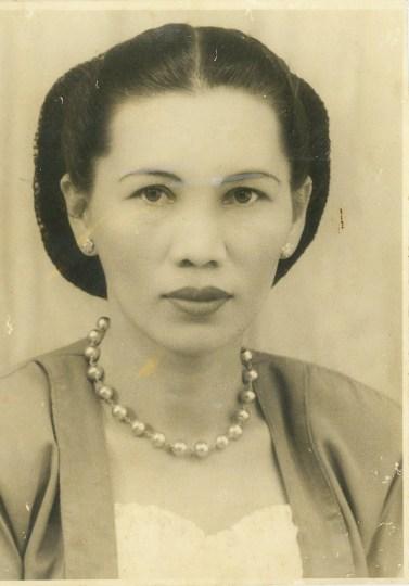 Opung (Grandma) Tioria