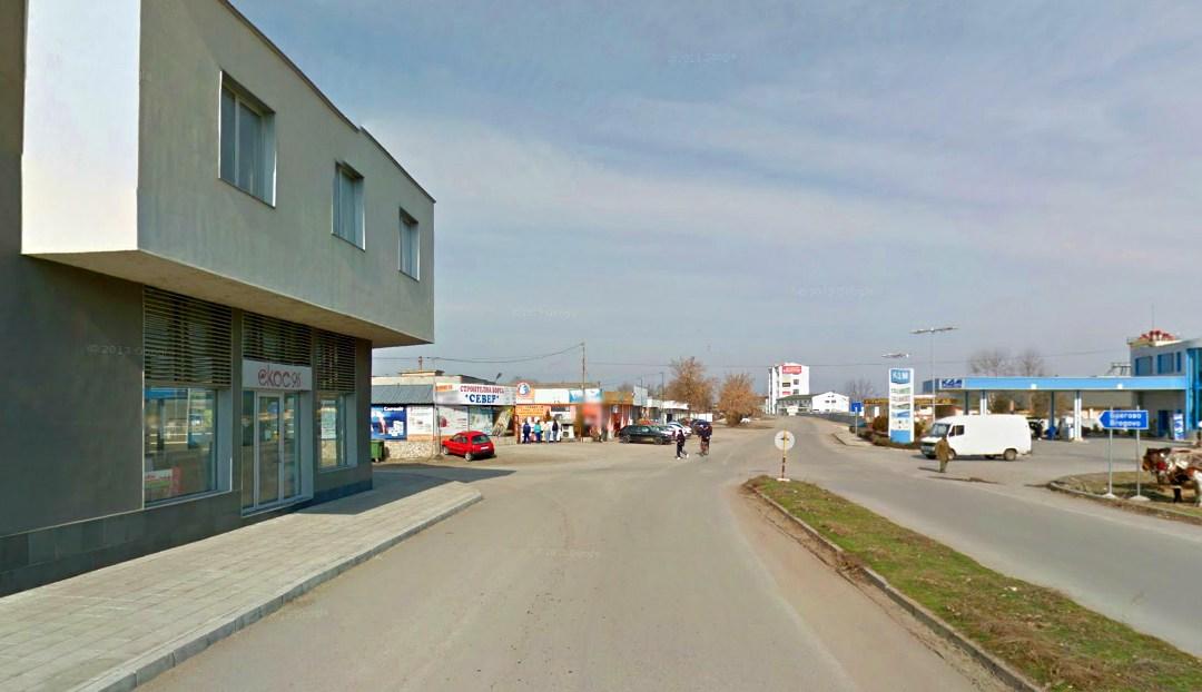 Reparație de strada Shiroka în Vidin, făcută de Tip OOD