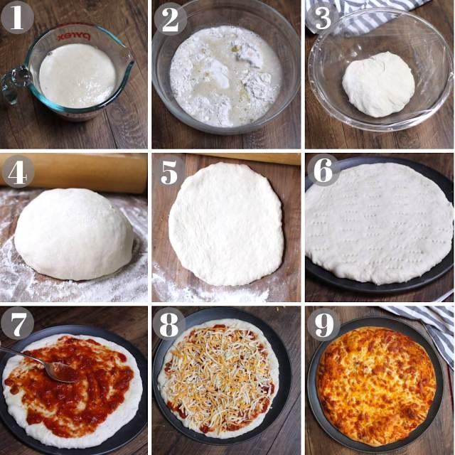 Homemade Pizza Dough Recipe - TipBuzz