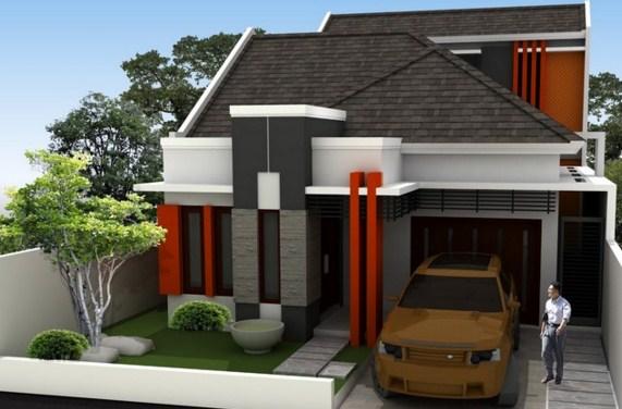 Rumah Minimalis 36 Dua Lantai
