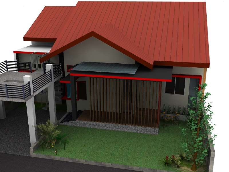 Desain Model Atap Genteng Rumah Modern Yang Kokoh