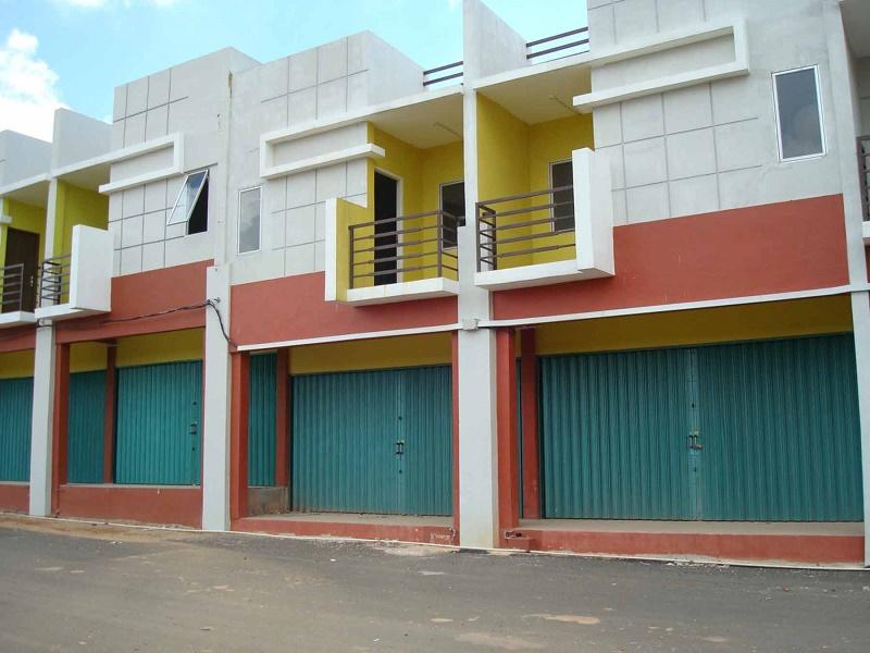 Foto Bangunan Ruko Minimalis 2 Lantai