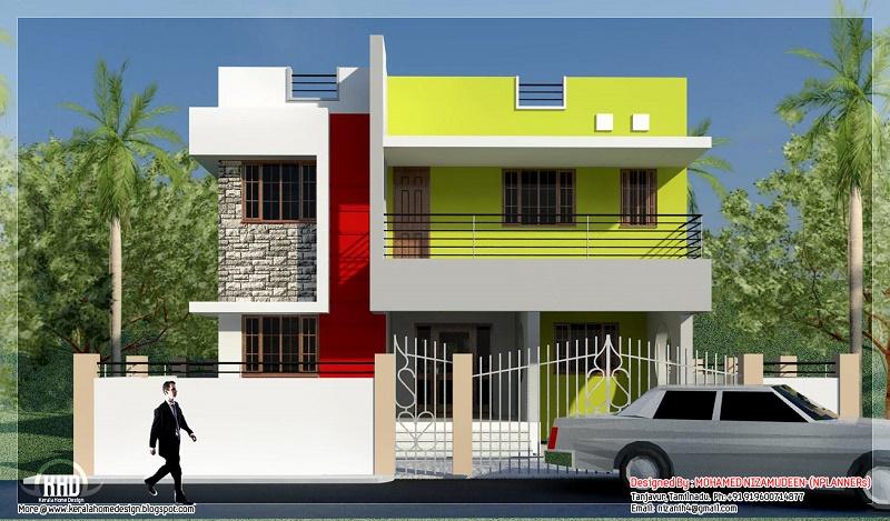 Rancangan Gambar Rumah Tampak Depan 3D (Dimensi)
