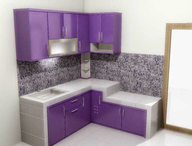 Dapur Rumah Kecil Yang Modern