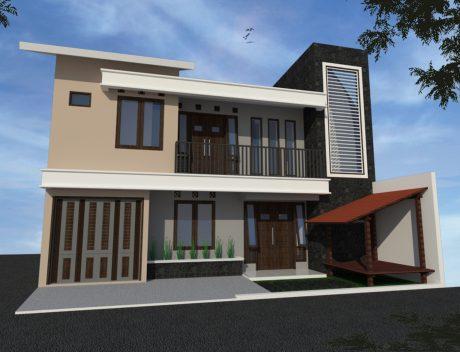 Efisiensi Pemanfaatan Lahan Untuk Type Rumah Minimalis 2 Lantai