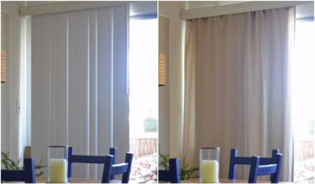 How To Update Ugly Vertical Blinds In Your Home Tiphero