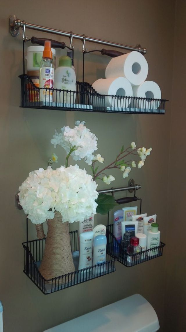 13 Clever Ways To Use Towel Bars Around Your Home Tiphero