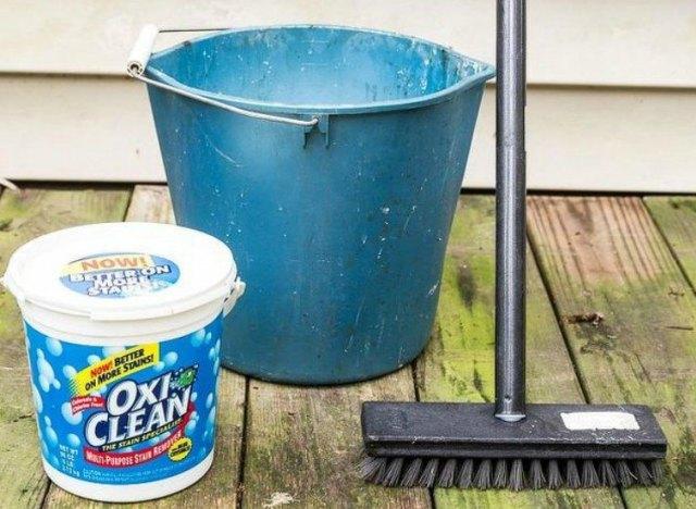 Oxiclean Deck Cleaner Deck Plan Ideas