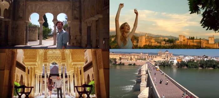 anuncios y spots sobre turismo en andalucía
