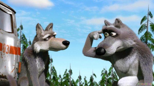"""Волки из мультика """"Маша и медведь"""" - картинки и изображения"""