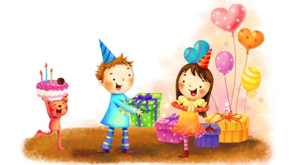 Фоновая картинка с днем рождения - обои