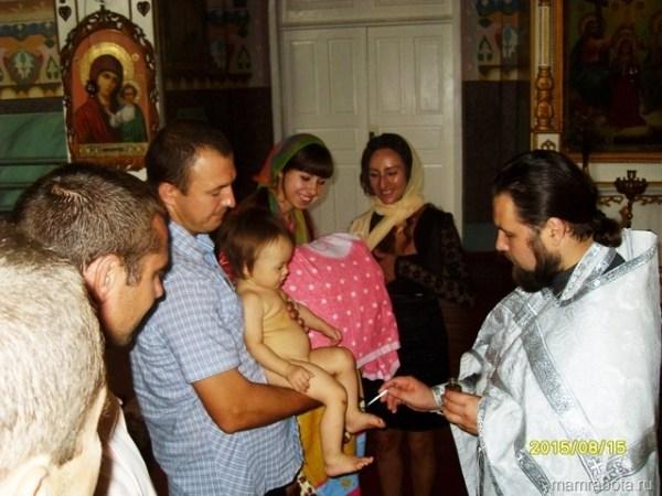 Интересное крещение детей фото