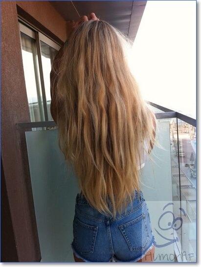 Крутые фотки на аву для девушек без лица волосы русые