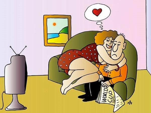 Прикольные картинки муж и жена ругаются