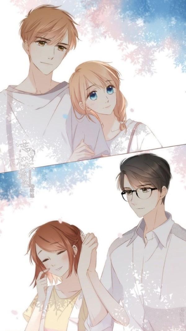 Красивые картинки аниме пара пнг